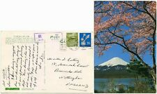 JAPAN MACHINE CANCEL 1968 on PPC to GB
