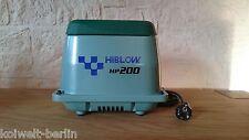 Original HiBlow HP-200 v. Takatsuki - 230 L/min. - 210 Watt - Koi Teich Belüfter
