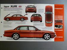"""1997 > Jaguar XJR Sedan IMP """"Hot Cars"""" Spec Sheet Folder #1-51 Awesome L@@K"""