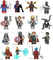 Avengers, DC, Pokemon, Minecraft, Jurassic World Figures Collectable Free Ship