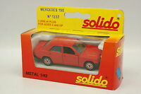 Solido 1/43 - Mercedes 190 Rouge