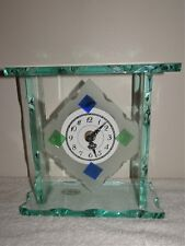 BEAUTIFUL ARTE MURANO ITALY IL LABORATORIO BY CIBIERRE ART GLASS CLOCK