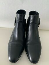 Aquatalia Flambay FALL/WINTER ANKLE BOOT SIDE ZIP SIZE 8 MADE IN ITALY