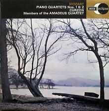ECS 523 Mozart Piano Quartets 1 & 2 Curzon Amadeus Quartet DECCA Eclipse NM/EX