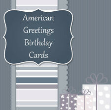 NEW American Greetings Premium Birthday Cards: 100 Choices--Fast Shipping!