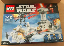 BOITE SET  LEGO VAISSEAU STAR WARS 75138 HOTH ATTACK YAN SOLO PROBE DROID SONDE