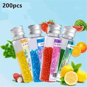 200pcs/pack Flavor Cigarette Pop Bead Fruit Flavour Mint Flavor Cigarette Holder