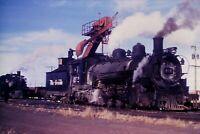 Duplicate Slide Denver & Rio Grande Western Railroad DRG&W 492 Steam Engine