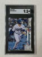 GAVIN LUX 2020 Topps Series 1 ROOKIE RC #292! SGC MINT+ 9.5! PSA COMP! DODGERS!