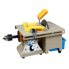 110V Multifunctional Bench Lathe Machine Electric Grinder Polisher + Accessory