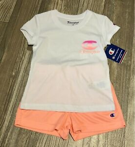 Champion Toddler Two Piece Shorts Set Outfit 3t new- Summer Back To School