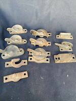 Vintage SHABBY CABINET DOOR TRANSOM SASH WINDOW LATCH LOCK