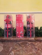 COCA COLA BOTTLE WITH BOX CHRISTMAS 2014 FRANCE