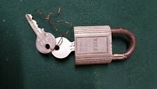 Vintage Yale  Made In USA Padlock Lock (B3)