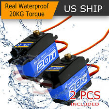 2X K5 Waterproof High Torque Metal Gear RC Servo motor airplane car fit MG996