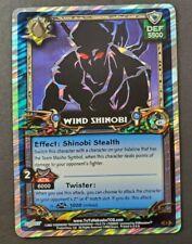 Yu Yu Hakusho TCG Dark Tournament 1st Edition Foil G1 Wind Shinobi