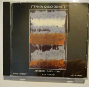 Stephen Gauci Quartet - Absolute, absolutely - CD