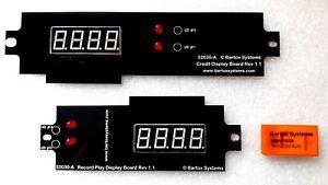 RockOla MAX 477 481 Jukebox LED Display Kit 52035-A 52030-A MM57163N Rock-Ola