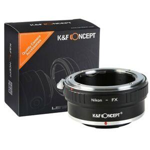 K&F Concept - Nikon F Lens to Fuji X Lens mount Adapter
