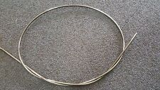 Shimano Dura Ace black brake cable outer casing 1.6 meter with 6 end caps