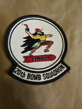 Brand New- Us Air Force 20th Bomb Squadron B-52H Stratofortress Patch