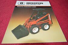 Hesston SL 10 Skid Steer Loader Dealer's Brochure YABE7