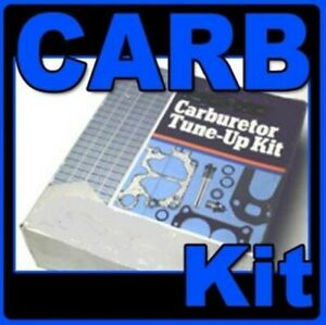 Carburetor Kit 1933-1954 6 Plymouth, Chry Carter BB BBR1 with instructions