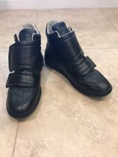 Maison Margiela Clinic Two-Strap High-top Sneaker, Black, Size 46 EU 13 US