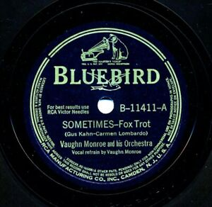 VAUGHN MONROE and his Orchestra on 1942 Bluebird B-11411 - Sometimes