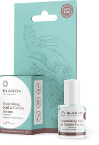 Ikarov Nourishing Nail & Cuticle Serum for Weak & Brittle Nails with PP 10 ml