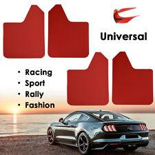XUKEY 4pc Universal Splash Guards For Car Pickup SUV Mud Flaps Mudguard Red
