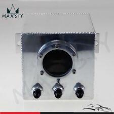 2L Billet High Flow Swirl Fuel Surge Pot Tank AN6 FOR 044 External Fuel Pump SL