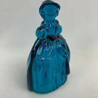 Boyd Art Glass Marguerite the Doll - Teal