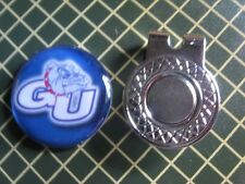 GOLF /  Gonzaga University Golf Ball Marker/with Magnet Hat Clip New!!