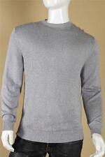 $795 Ermenegildo Zegna Silk Linen Sweater size 56  2XL XXL Blue White Crewneck