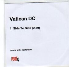 (DG179) Vatican DC, Side to Side - 2006 DJ CD