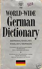 WORLD-WIDE GERMAN DICTIONARY