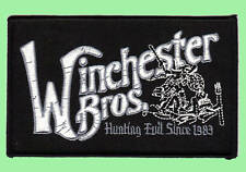 Supernatural - Winchester Bros. Patch - Kostüm Aufnäher - zum aufbügeln neu