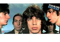 ROLLING STONES 1976 BLACK & BLUE EURO TOUR PROGRAM BOOK / MICK JAGGER / NM 2 MNT