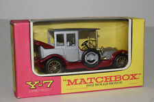 MATCHBOX LESNEY MODELS OF YESTERYEAR #Y-7 1912 ROLLS ROYCE, RARE GRAY ROOF