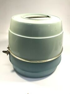 Vintage Sears Green&Blue Hood Bonnet Portable Hair Dryer - Working!!