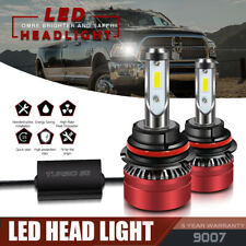 9007 HB5 LED Headlight Bulbs Kit for Dodge Ram 1500 2500 1999-2007 High Low Beam