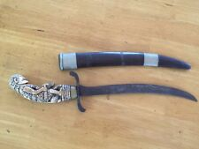 COLLECTABLE ANTIQUE HANDCARVED INDONESIAN CEREMONIAL DAGGER