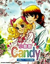 DVD Candy Candy Complete Series 1-115 End Japanese & Mandarin Version  +TRACKING