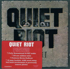 QUIET RIOT QR III CD ROCK CANDY 2010 REMASTER CANDY079 NEUF/NEW