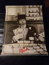 W. C. Fields, Original 1980 Strohs Beer Poster