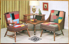1950s Chrome Furniture Advertising Postcard: Pick-A-Patch Chairs, Knoxville, TN