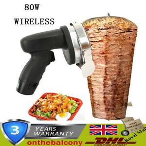 Cordless Kebab Separation Doner Kebab 80 W Rechargeable & wireless
