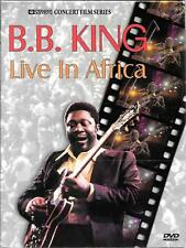DVD ZONE 1 CONCERT--BB KING--LIVE IN AFRICA