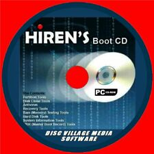 HIRENS BOOT DISC TOOLS CD BACKUP SLOW FIX CRASHES VIRUS/MALWARE REPAIR PC/LAPTOP